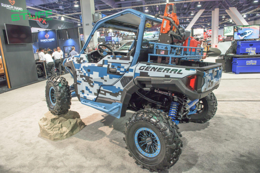 Line X Polaris General SEMA Show 2016