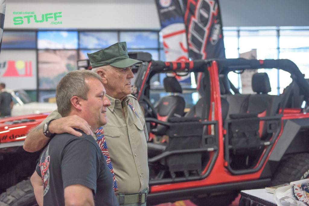 Ronald Lee Ermey SEMA Show 2016