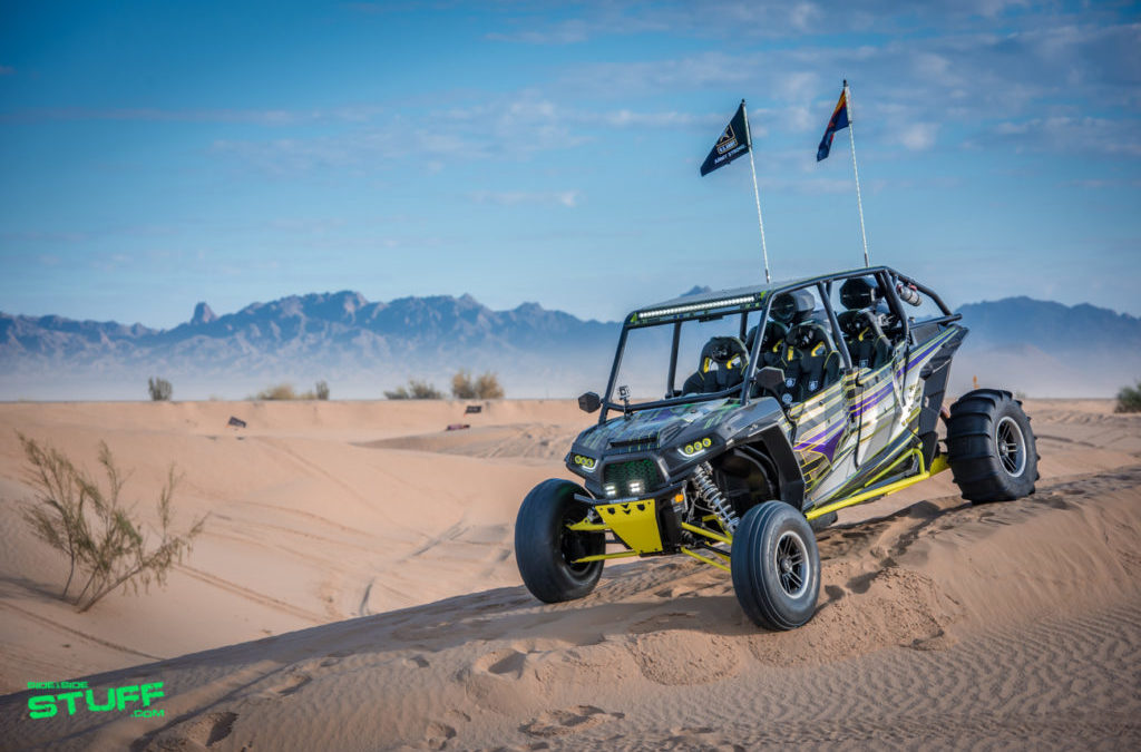 "John and Wendi Tyree's 2016 Polaris RZR XP 4 1000, ""Green Goblin"""