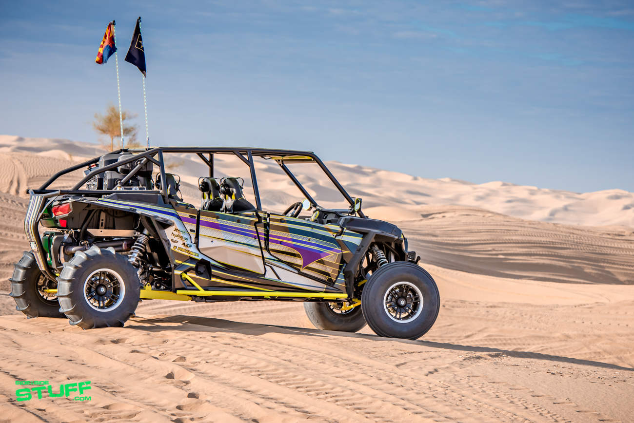 John And Wendi Tyree S 2016 Polaris Rzr Xp 4 1000 Quot Green