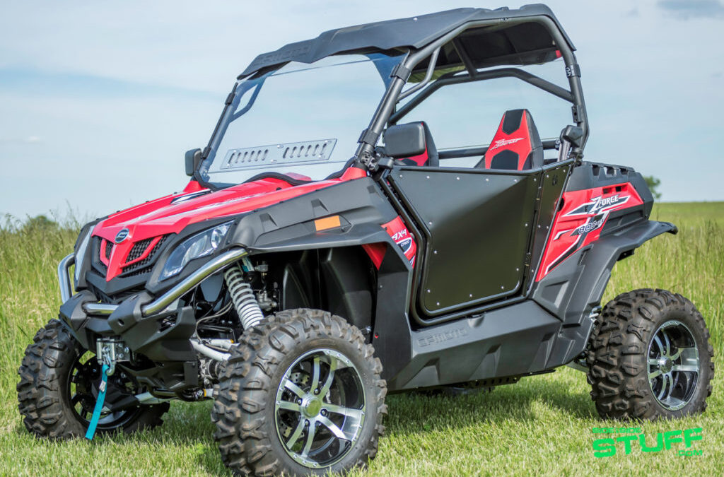 Finally, UTV Doors for CF Moto ZForce Side By Sides