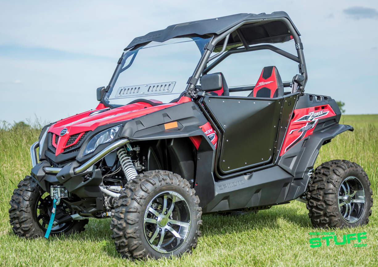 Can Am Parts >> Finally, UTV Doors for CF Moto ZForce Side By Sides | Side By Side Stuff