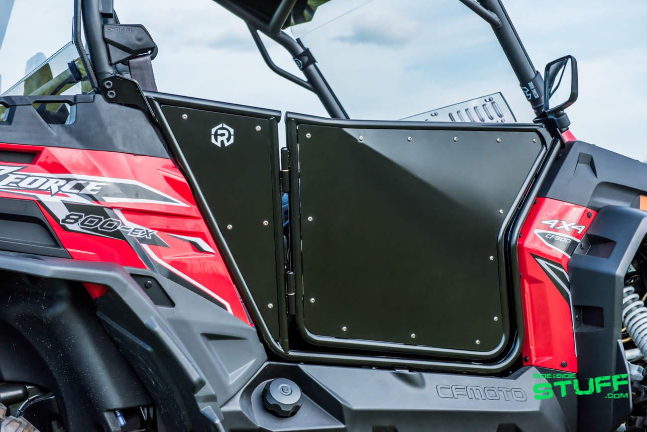 Octane Ridge Alpha Doors UTV SxS CFMoto ZForce & Finally UTV Doors for CF Moto ZForce Side By Sides | Side By Side Stuff