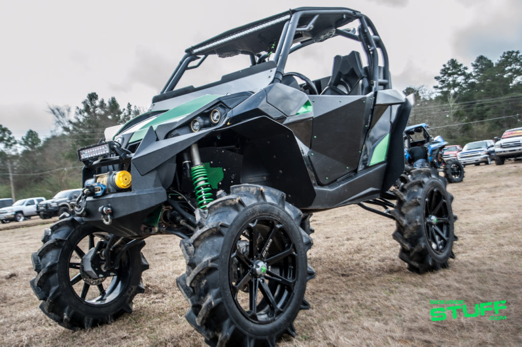 High Lifter Shriners Ride Can Am Maverick MSA Wheels