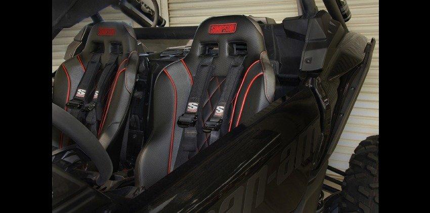 Custom UTV Seats from Simpson Performance Products