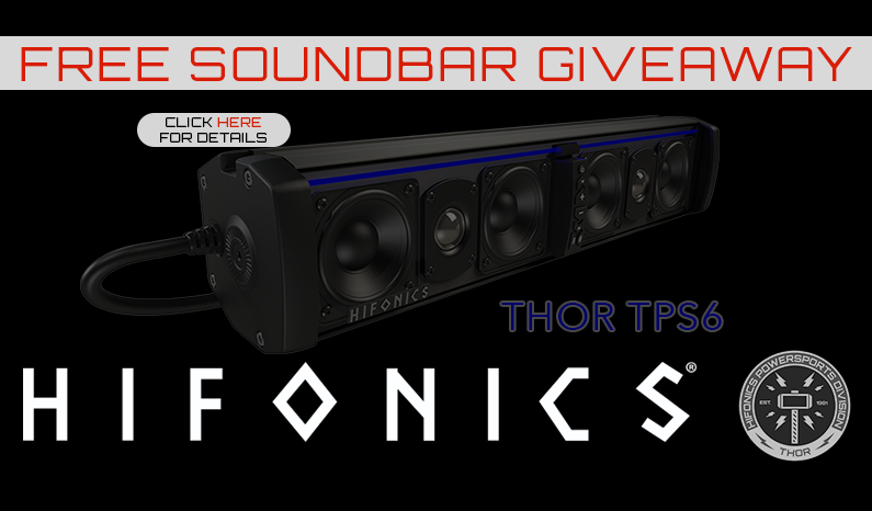Thor Sound Bar Giveaway