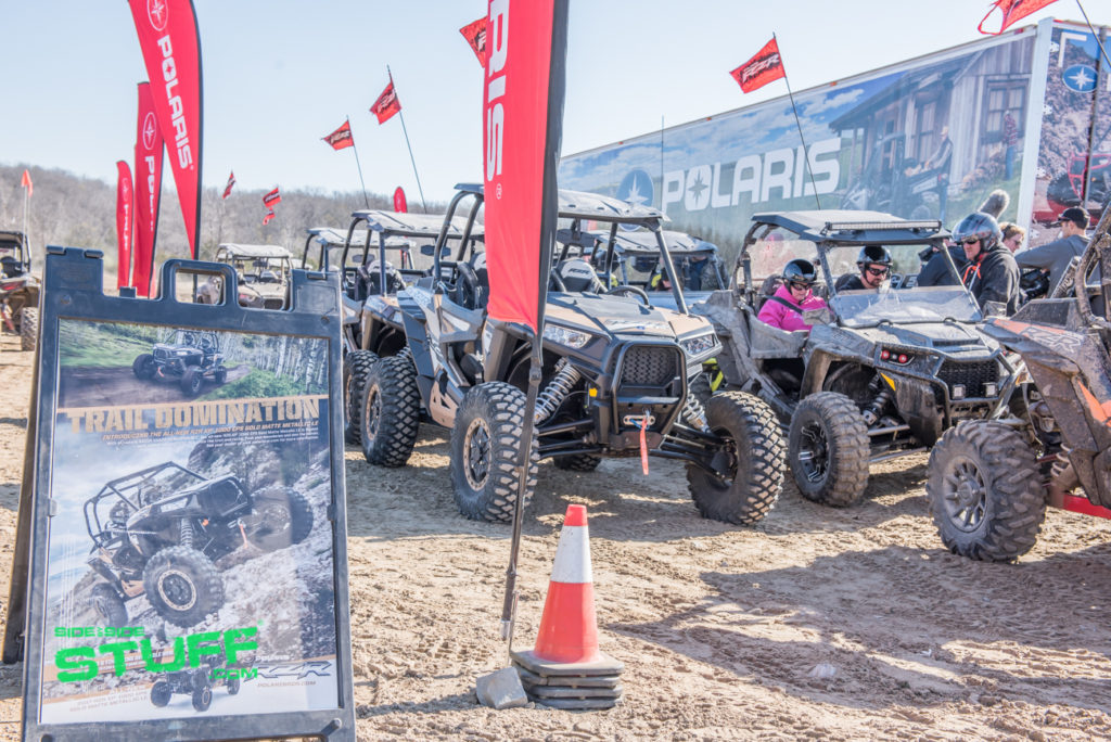 Side by Side Stuff Polaris Rally at the Mines