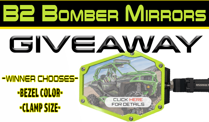 Assault Industries B2 Bomber Mirrors Giveaway