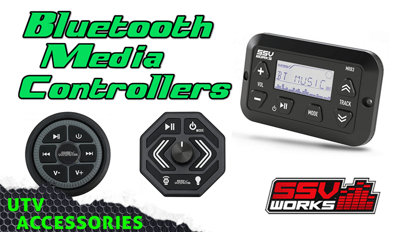 SSV Works Bluetooth Media Controllers for UTVs | Side By Sides