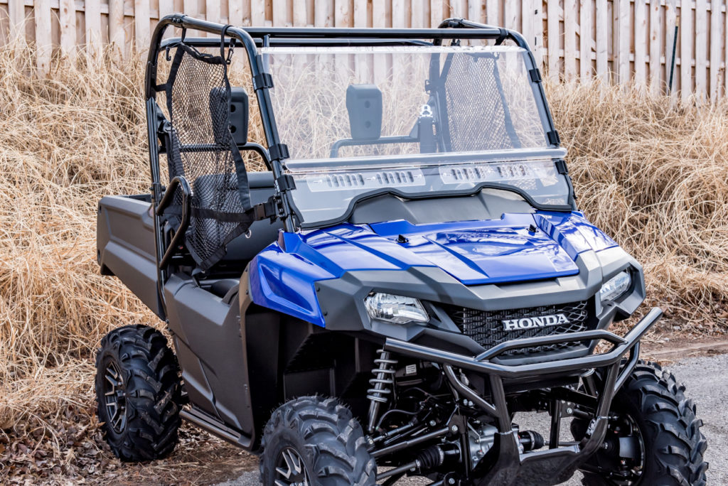 Honda Pioneer UTV Windshield Octane Ridge