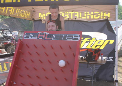 High Lifter Plinko Game Played 8 times over the 3 day event
