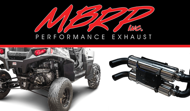 Superior UTV Exhaust Systems from MBRP Inc.