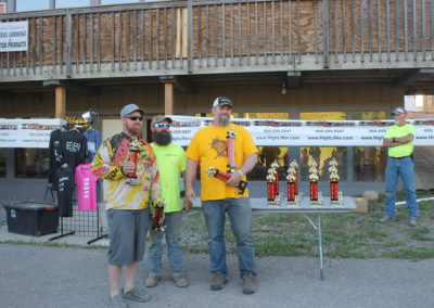 Winners received cash and trophies