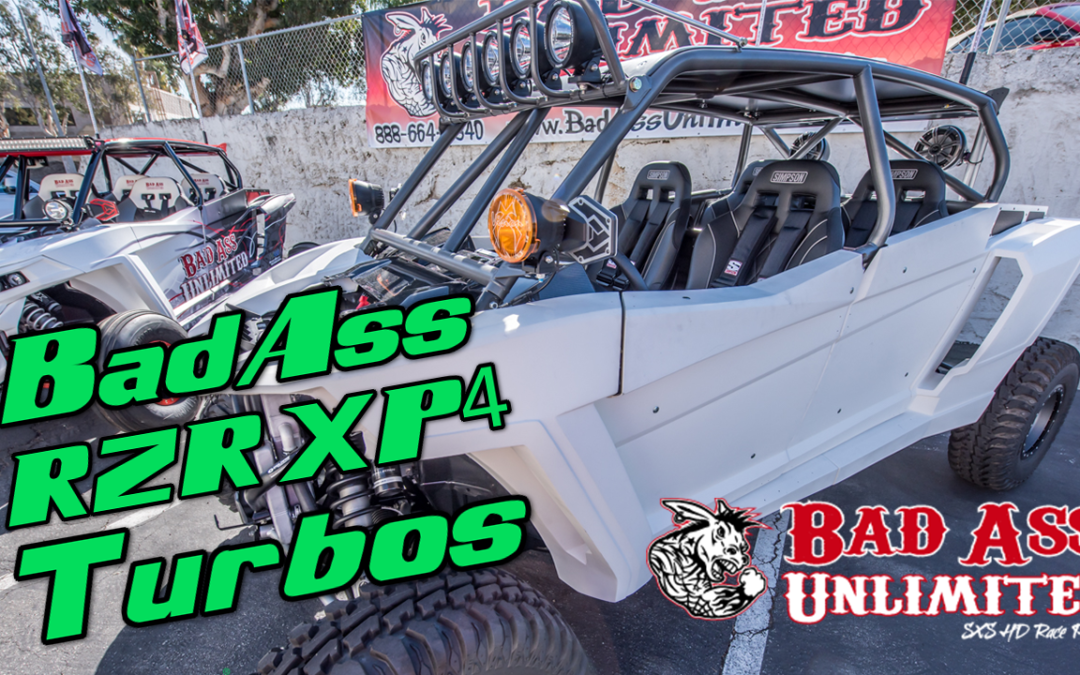 Bad Ass Unlimited Polaris RZR XP 4 Turbos