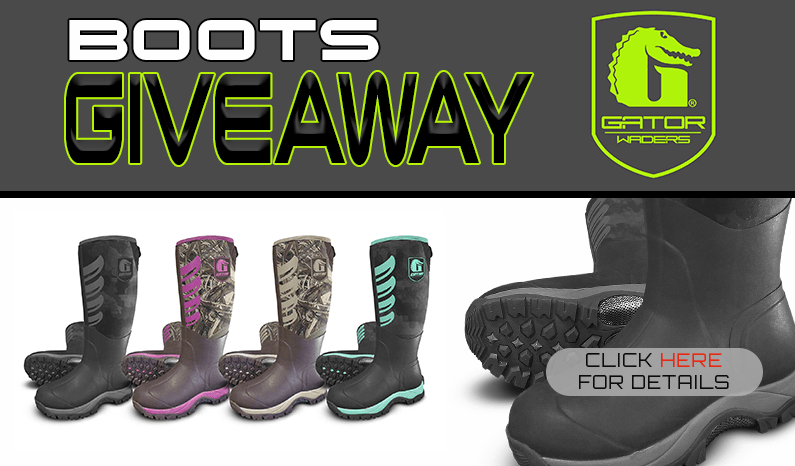 Gator Waders Everglade Boots Giveaway
