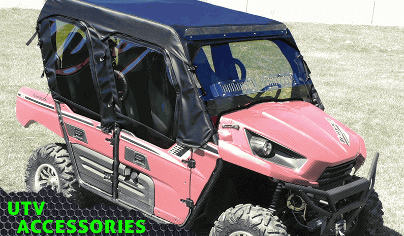 UTV Cab Enclosures from Over Armour Offroad