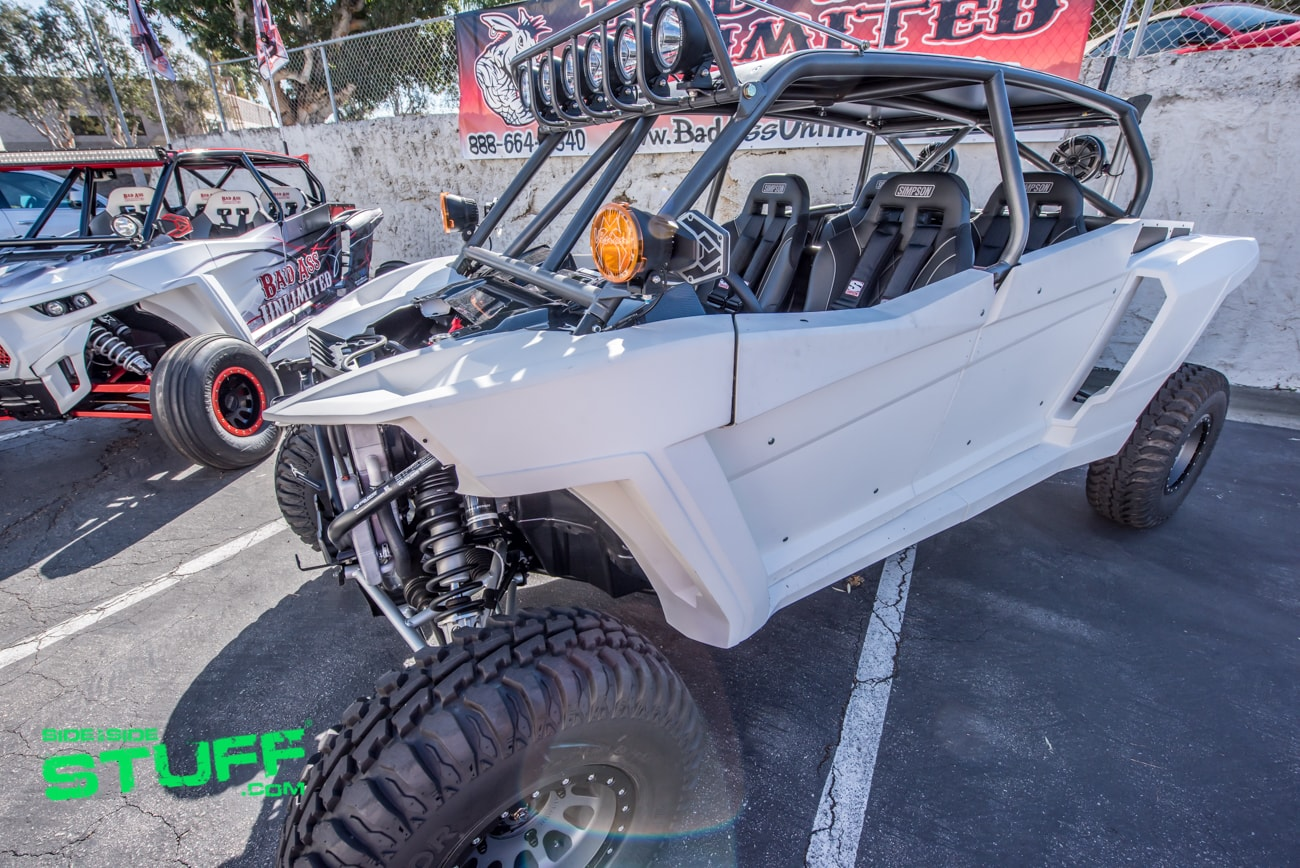 Bad Ass Unlimited Polaris Rzr Xp 4 Turbos Side By Side Stuff