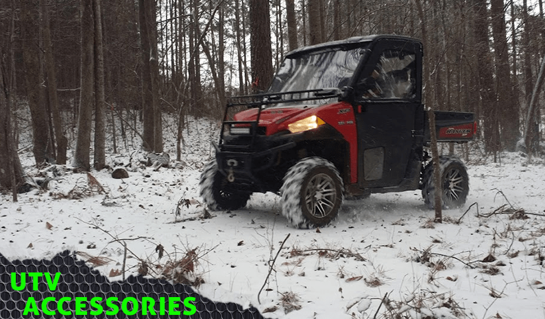Polaris Ranger Gear for the Harsh Winter Months