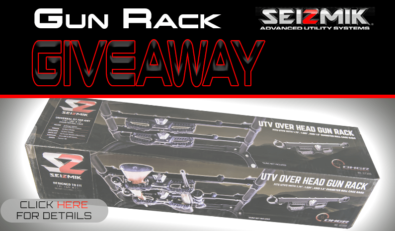 Seizmik OHGR Over Head Gun Rack Giveaway