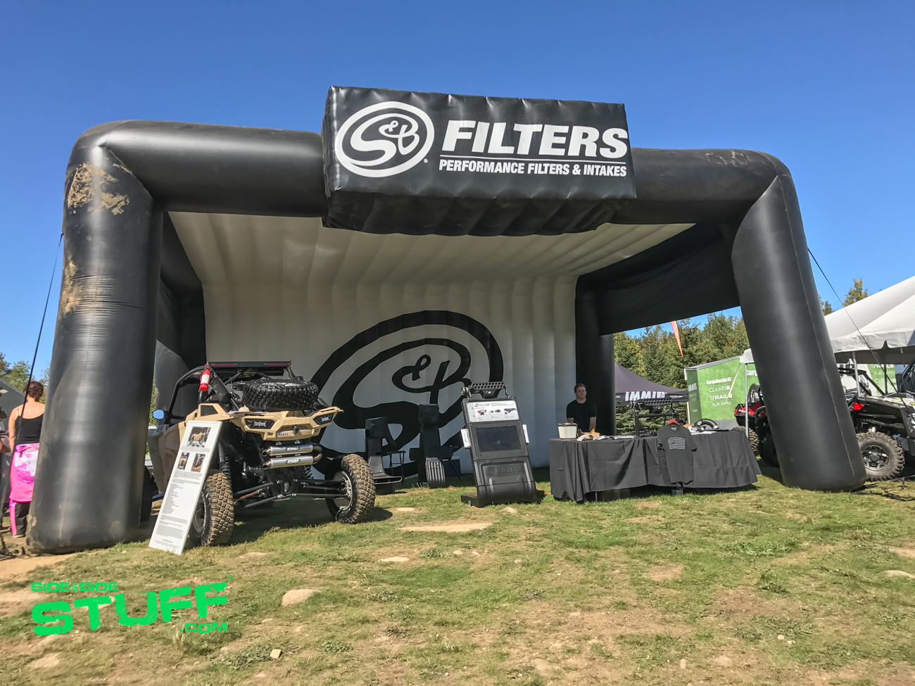S&B Filters Camp RZR New England