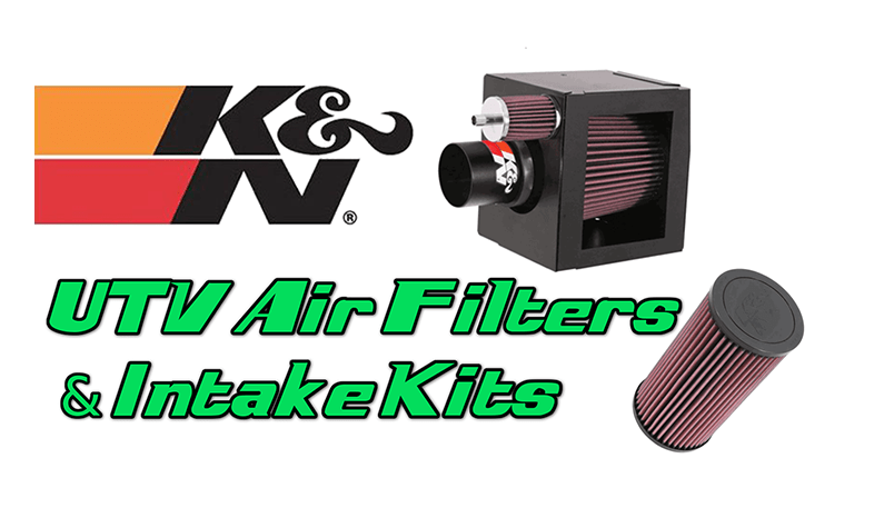 UTV Air Filters & Intake Kits from K&N Filters