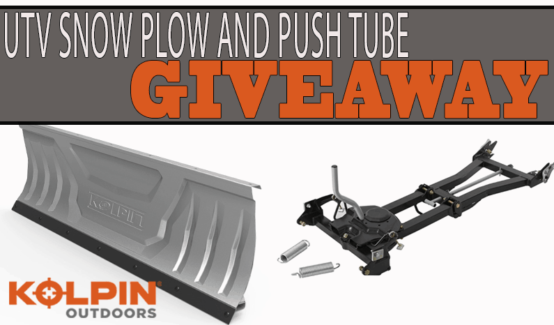 Kolpin Outdoors Snow Plow System Giveaway