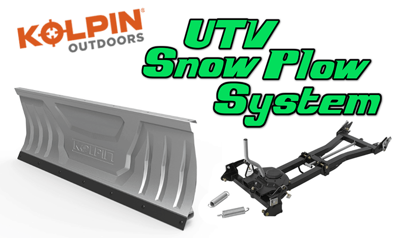 Kolpin Outdoors UTV Snow Plow System