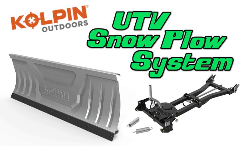Kolpin Outdoors UTV Snow Plow System