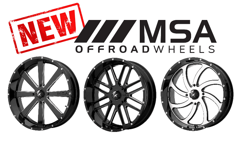Hot Off the Press: New MSA Offroad Wheels