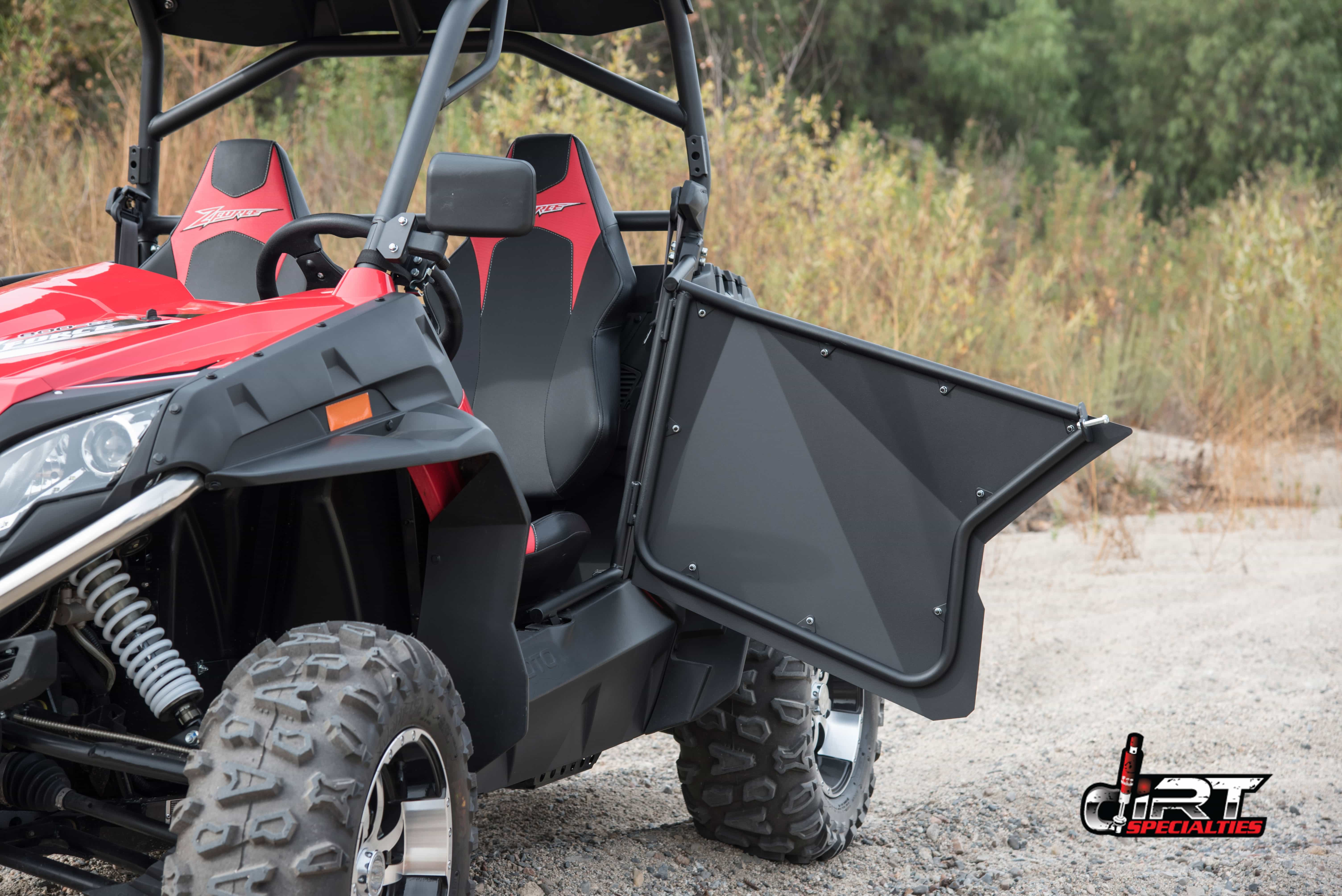 UTV Doors for CF Moto Side By Sides | Side By Side Stuff