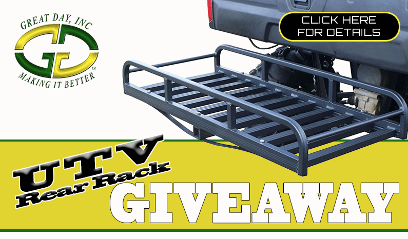 Great Day Rear Cargo Rack Giveaway