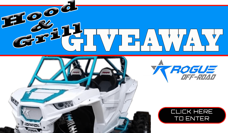 Rogue Off-Road UTV Hood & Grill Combo Giveaway