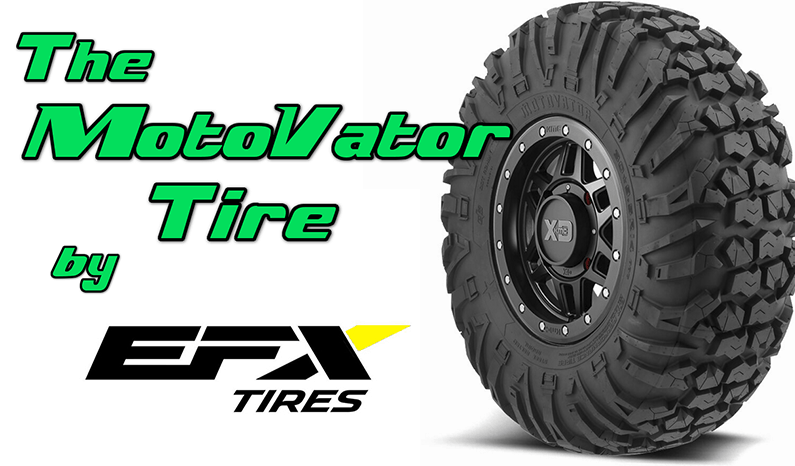 The D.O.T. Approved EFX MotoVator Tire