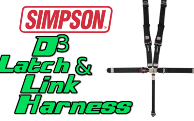 Simpson 5 Point D3 Latch and Link UTV Harness