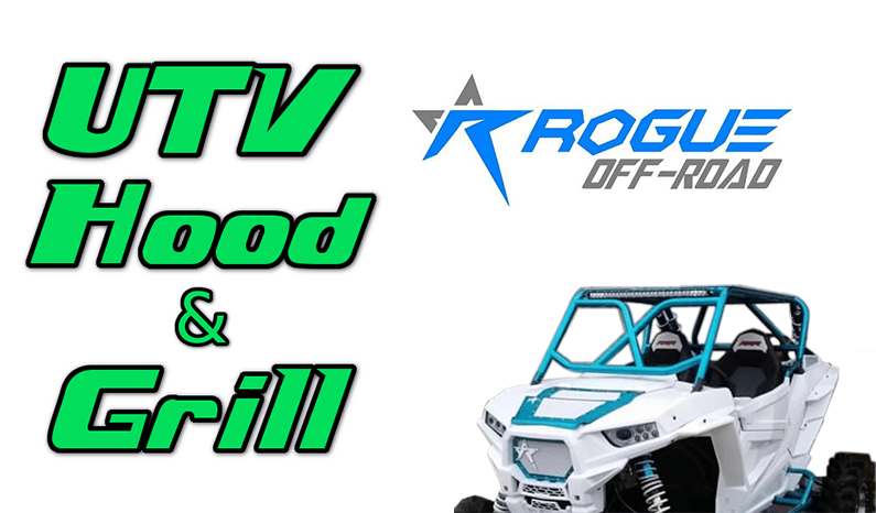 Rogue Off-Road UTV Hood and Grill