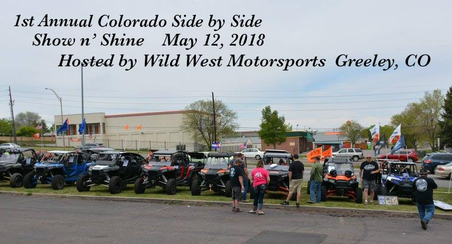 Colorado Side by Side Show n' Shine
