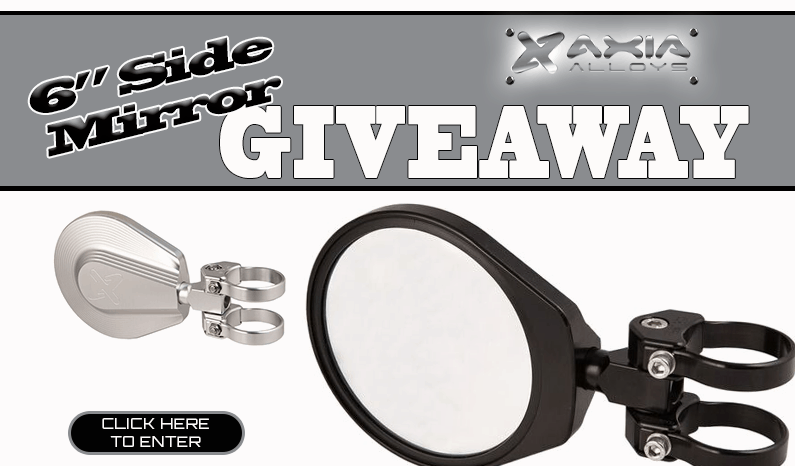 Axia Alloys 6″ Side View Mirror Set Giveaway