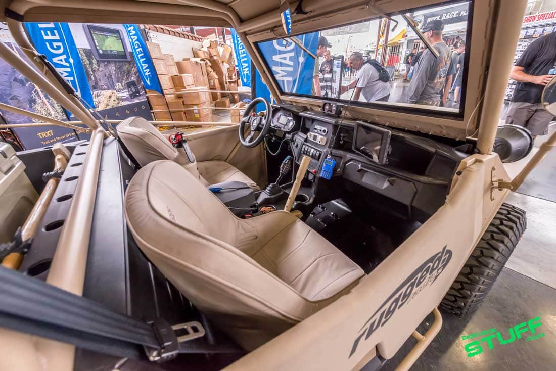 Rugged Radios Rugged General Polaris General Willys Jeep Interior