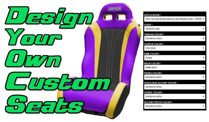 Simpson Performance Products Integrated Seat Builder