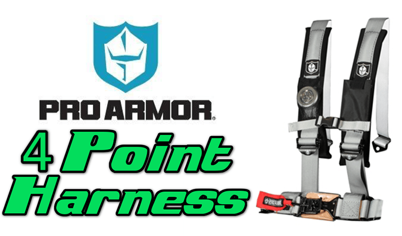 Pro Armor 4 Point Harness for UTVs & Side By Sides