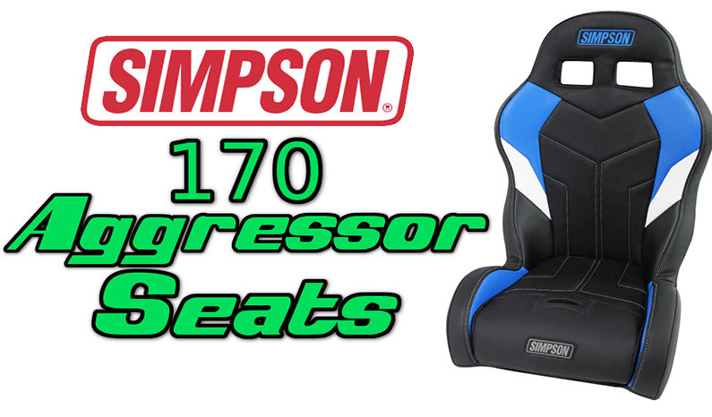 Simpson Custom 170 Aggressor Seats | Polaris RZR 170