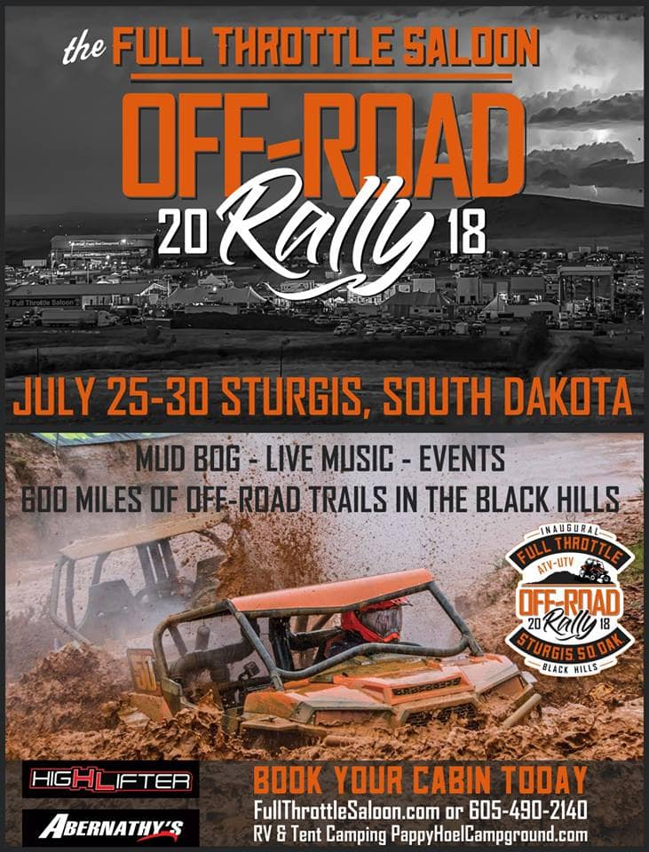 Full Throttle Saloon Sturgis Off-Road Rally