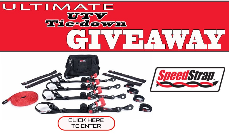 SpeedStrap Ultimate UTV Tie-Down Kit Giveaway