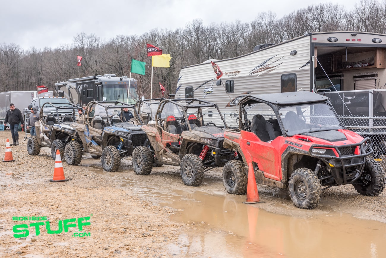 Polaris Demo Rides Rally at the Mines 2018