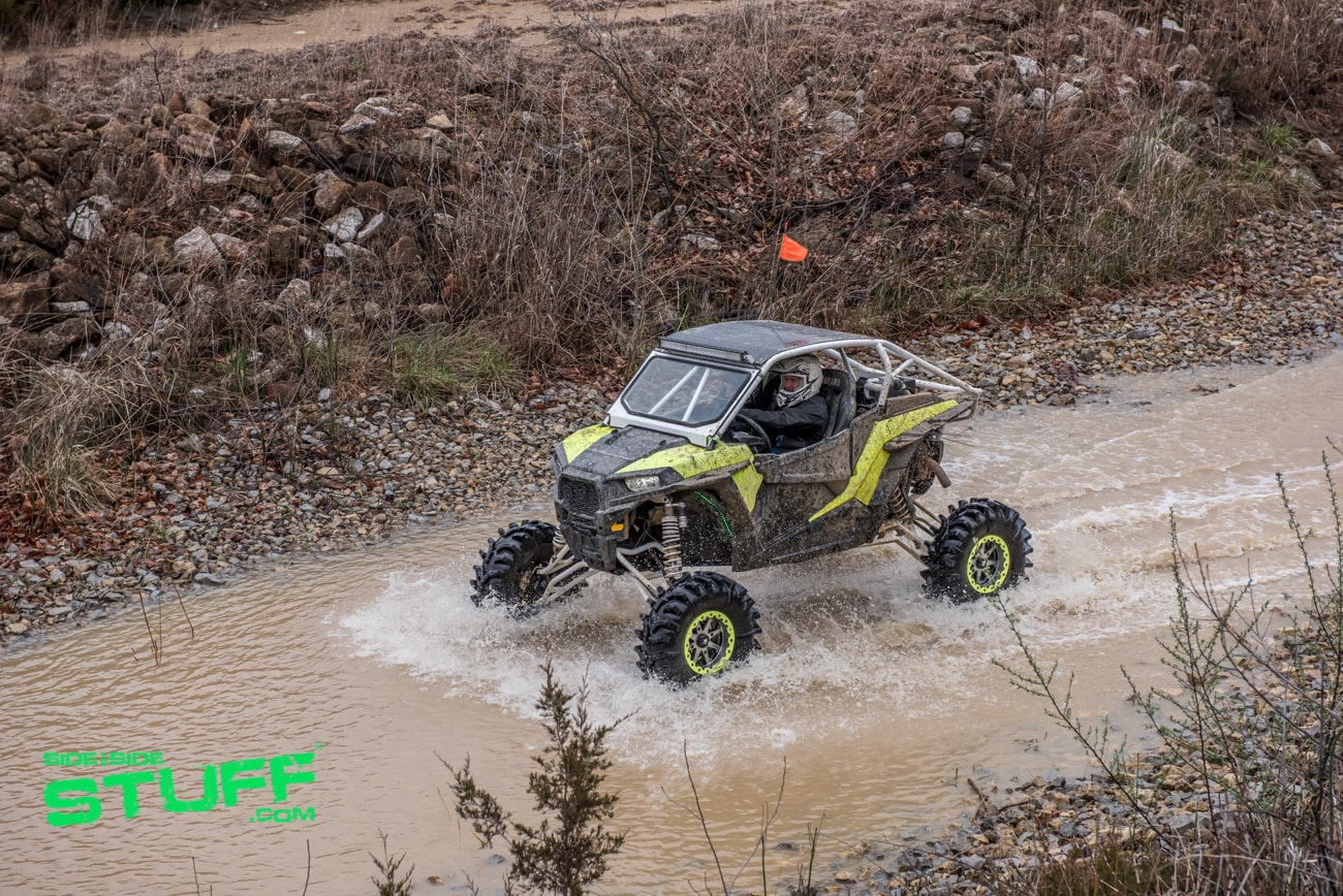RZR in Creek Rally at the Mines 2018