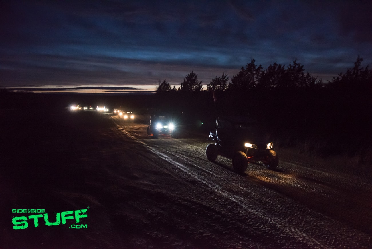 Night Ride Rally at the Mines 2018