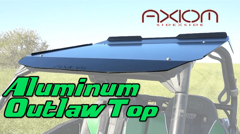Polaris RZR Aluminum Outlaw UTV Top by Axiom Side By Side