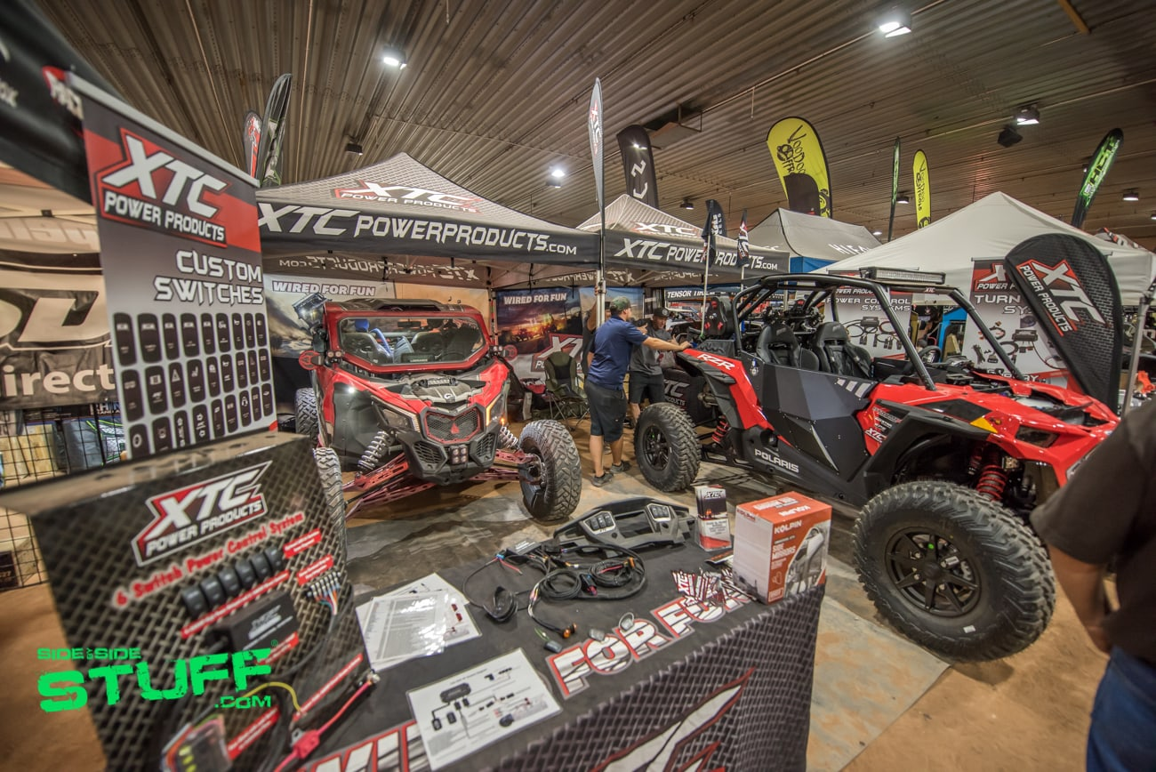 XTC Power Products Booth Rally at the Rocks 2018