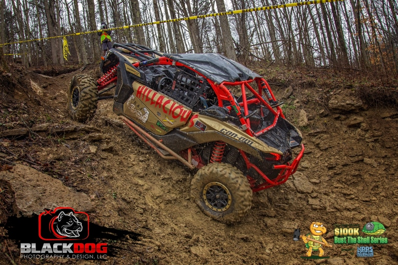 Mike Flener Can Am Bust the Shell 5