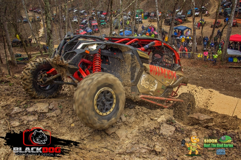 Mike Flener Can Am Bust the Shell 4